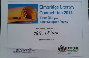 Poetry prize 2014